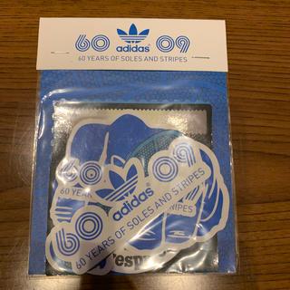 アディダス(adidas)のアディダス60周年記念ステッカー(ステッカー)