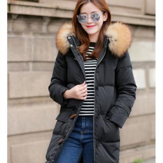 秋と冬のダウンジャケットの緩いパンサービスの膝の上の韓国のバージョンの2019新(タンクトップ)