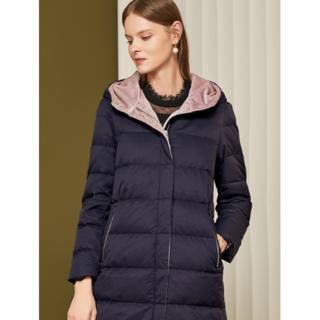 冬の新しいファッション無地の白いダックダウンジャケットジャケット女性(タンクトップ)