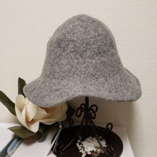 ジャーナルスタンダード(JOURNAL STANDARD)のmuhlbauer wool ハット handmade 新品未使用(ハット)