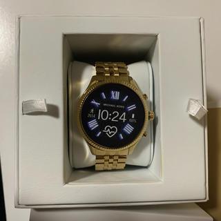 マイケルコース(Michael Kors)のACCESS LEXINGTON 2 ゴールドトーン 44mm - G5(腕時計(デジタル))