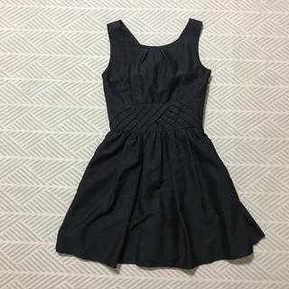 リリーブラウン(Lily Brown)のリリーブラウン ドレス 黒 (ミニドレス)