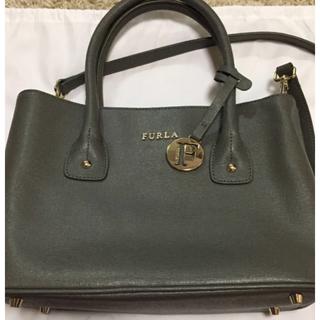 フルラ(Furla)の数回使用 美品 FURLA ミニトートバッグ  ショルダー バッグ (トートバッグ)