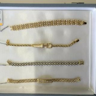 カルティエ(Cartier)の上2個目 限定 K18 ダイヤモンドルビーブレスレット 0,48ct 28,3g(ブレスレット)