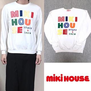 ミキハウス(mikihouse)の90's MIKI HOUCE ミキハウス パーカー スウェット オールド(スウェット)