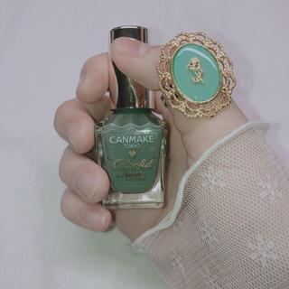 グリーンのメルヘンなバラ リング 指輪(リング(指輪))