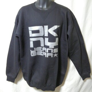 ダナキャランニューヨーク(DKNY)のDKNY JEANS スウェットシャツ デッドストック 当時物 ダナ・キャ(スウェット)