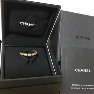シャネル(CHANEL)の8号 シャネル プルミエール プロメス リング イエローゴールド CHANEL(リング(指輪))
