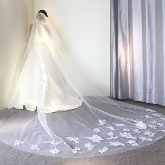Vera Wang(ヴェラウォン)のトリートドレッシング ウェディングベール レディースのフォーマル/ドレス(ウェディングドレス)の商品写真