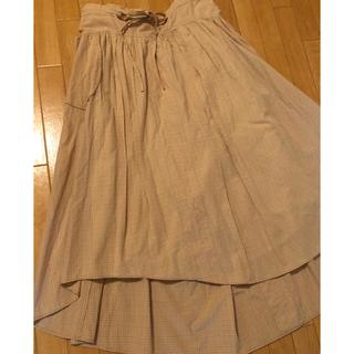 アッシュペーフランス(H.P.FRANCE)のD-due スカート(ロングスカート)