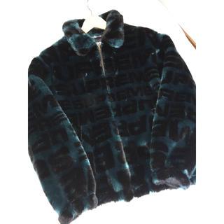 シュプリーム(Supreme)のsupreme fur bomber jacket mサイズ(毛皮/ファーコート)