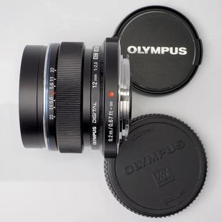 OLYMPUS - OLYMPUS M.ZUIKO DIGITAL ED 12mm F2.0 黒
