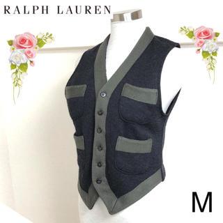 ラルフローレン(Ralph Lauren)のラルフローレン(Mサイズ)ウールベスト(ベスト/ジレ)