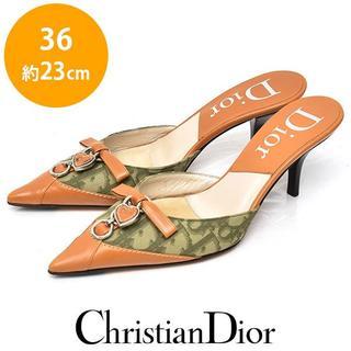 ディオール(Dior)の新品❤️ディオール トロッター ミュール パンプス  36(約23cm)(ハイヒール/パンプス)