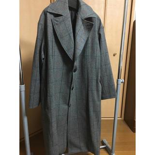 ルメール(LEMAIRE)のstudio nicholson overcoat grey check(チェスターコート)