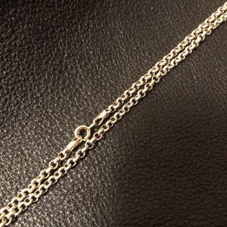 アヴァランチ(AVALANCHE)の高級チェーンネックレス 新品 シルバー925 チェーンネックレス 80cm(ネックレス)