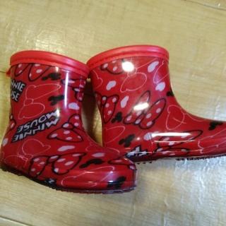 ディズニー(Disney)のsara様専用 ディズニーミニーマウスの長靴 13 CM(長靴/レインシューズ)