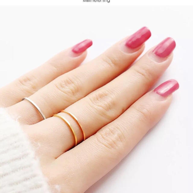 らんま 様 専用口  二点セット レディースのアクセサリー(リング(指輪))の商品写真