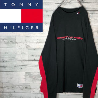 トミーヒルフィガー(TOMMY HILFIGER)の【3Dタグ】トミーヒルフィガー ☆ビッグロゴロンT M0676(Tシャツ(長袖/七分))