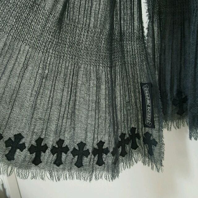 Chrome Hearts(クロムハーツ)のけい様☆宛クロムハーツストールです レディースのファッション小物(ストール/パシュミナ)の商品写真