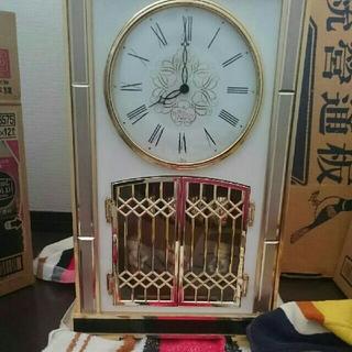セイコー(SEIKO)のセイコー  アンティーク  レア 貴重  クォーツ 置時計 からくり(置時計)