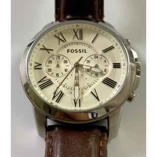 フォッシル(FOSSIL)の専用 FOSSIL フォッシル 腕時計 レザー ブラウン(腕時計(アナログ))