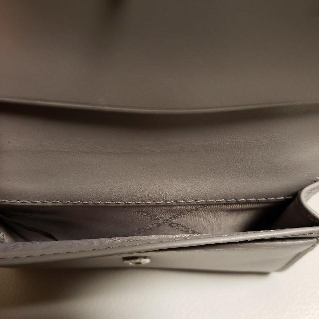 Michael Kors(マイケルコース)の新品 マイケルコース カードケース グレー レディースのファッション小物(名刺入れ/定期入れ)の商品写真