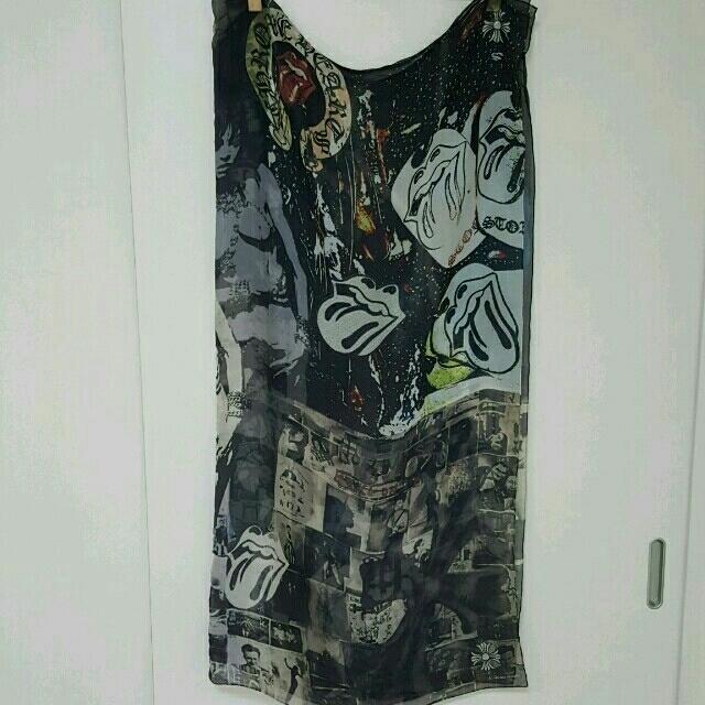 Chrome Hearts(クロムハーツ)のクロムハーツ♡レア!大判ストール レディースのファッション小物(ストール/パシュミナ)の商品写真