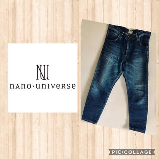 nano・universe - 再出品 Lee nano universe リー ナノ・ユニバース デニム