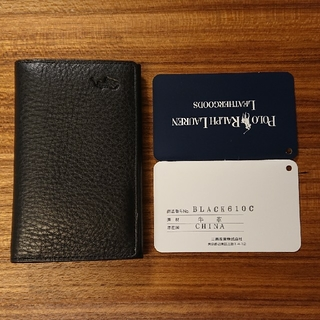 ポロラルフローレン(POLO RALPH LAUREN)の新品未使用!POLO Ralph Lauren カードケース(名刺入れ/定期入れ)