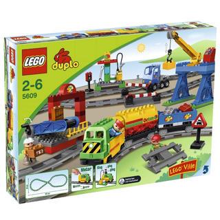 レゴ(Lego)のレゴ デュプロ トレイン 電車 レール レア(電車のおもちゃ/車)