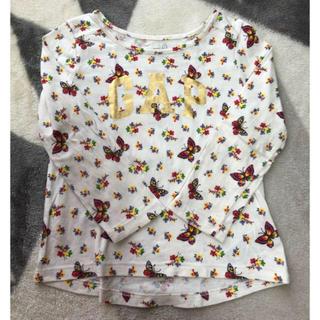 ギャップ(GAP)の【超美品】babyGAP シャツ 女の子 ベビー 90(Tシャツ/カットソー)
