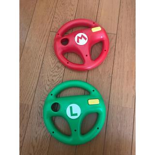 Wii U - マリオカート Wiiu ハンドル 美品