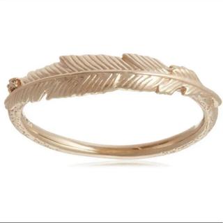 アガット(agete)のアガット  k10  ダイヤ フェザーリング(リング(指輪))