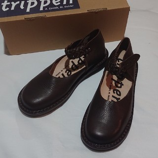 trippen - (新品・未使用品)trippen idylle ブラウン