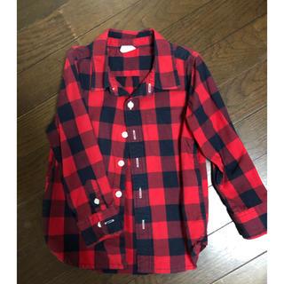 ギャップ(GAP)のGAP チェックシャツ 100(Tシャツ/カットソー)