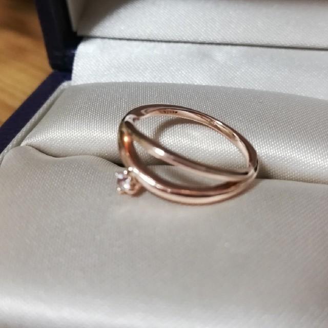 agete(アガット)のagete/ピンキーリング/K10/天然石 レディースのアクセサリー(リング(指輪))の商品写真