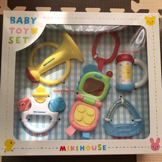 ミキハウス(mikihouse)のBABYTOYセット(がらがら/ラトル)