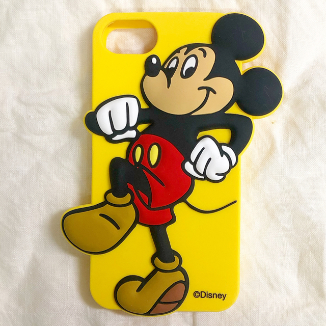 niko and...(ニコアンド)のミッキーマウス iPhone 6 / 6s / 7 / 8 シリコンケース スマホ/家電/カメラのスマホアクセサリー(iPhoneケース)の商品写真