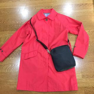 コーエン(coen)のcoenコーエン綺麗な赤のコート 美品(スプリングコート)