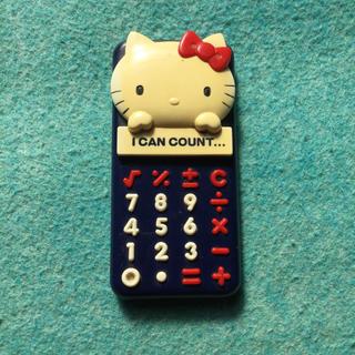 ハローキティ(ハローキティ)のレア サンリオ Sanrio かわいい ハローキティちゃん 電卓 計算機 レトロ(その他)
