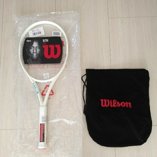 ウィルソン(wilson)のウィルソン  ウルトラ100L   ホワイト   G2  新品未使用(ラケット)