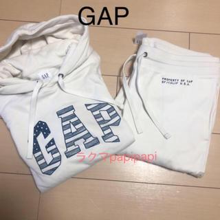 ギャップ(GAP)の新品 GAP メンズ フリーススウェット セットアップ パーカー(スウェット)