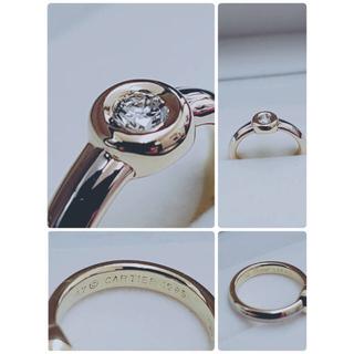 カルティエ(Cartier)のカルティエ♡モノストーン♡ダイヤリング(リング(指輪))