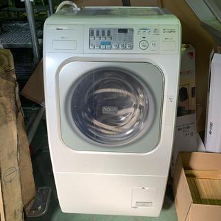 サンヨー(SANYO)のドラム式洗濯機 AWD–AQ1 8年使用中古品(洗濯機)