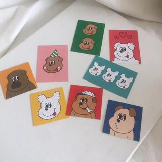 ビームス(BEAMS)の新品 韓国セレクトショップ  カード8枚組 セット(ショップ袋)
