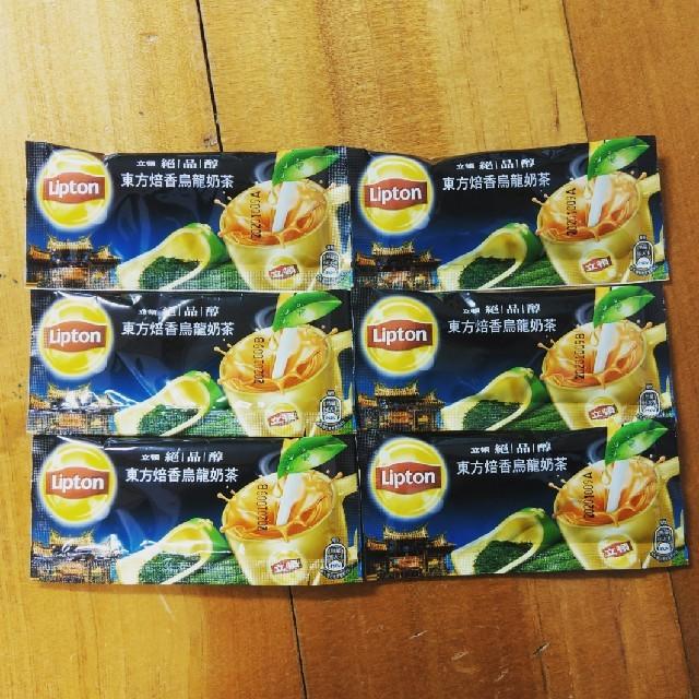 Unilever(ユニリーバ)の台湾リプトン東方焙香ウーロンミルクティー6個 食品/飲料/酒の飲料(茶)の商品写真