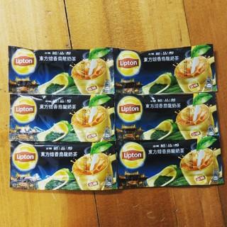 ユニリーバ(Unilever)の台湾リプトン東方焙香ウーロンミルクティー6個(茶)