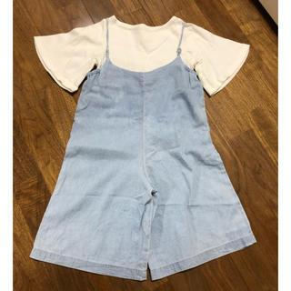 チャオパニックティピー(CIAOPANIC TYPY)のサロペット tシャツ セット(パンツ/スパッツ)