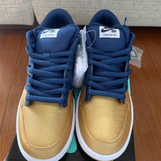 新品 Supreme Nike SB Dunk Low GOLD ダンク(スニーカー)